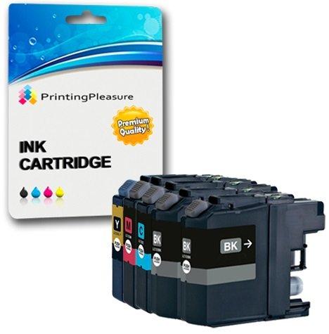 5 Druckerpatronen für Brother DCP-J562DW, MFC-J480DW, MFC-J680DW, MFC-J880DW   kompatibel zu Brother LC-221