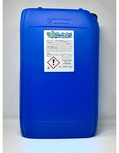 Acqua Ossigenata - Perossido Idrogeno al 3% - 25KG - Prodotto Igienizzante Professionale (Iva 5% DL Rilancio)