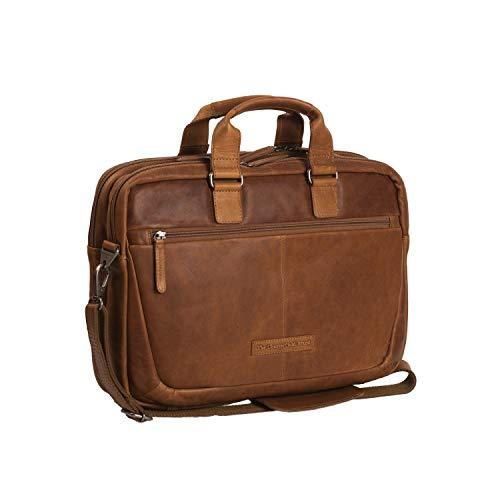 "The Chesterfield Brand Laptoptasche Leder Cognac Seth Laptop 15\"" Zoll Laptopfach"