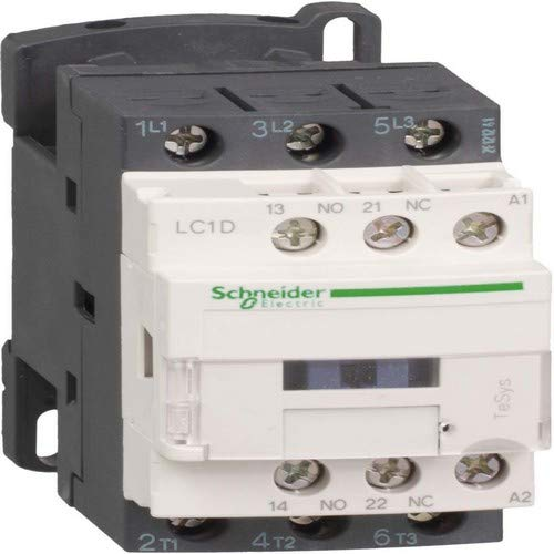 Schneider LC1D18P7 Leistungsschütz, 3P+1S+1Ö, 7, 5kW/400V/AC3, 18A, Spule 230V 50/60Hz