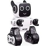 COSTWAY Intelligenter Roboter Ferngesteuerter Roboter Elektrisches Spielzeug Spreschen Musik Laufen