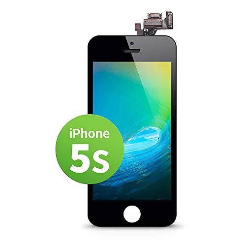 GIGA Fixxoo iPhone 5s Display in A+ Qualität | Austausch-Display iPhone 5s mit voller Farbechtheit und Perfekter Passform | iPhone 5s Screen in überragender Qualität | iPhone Display Retina LCD