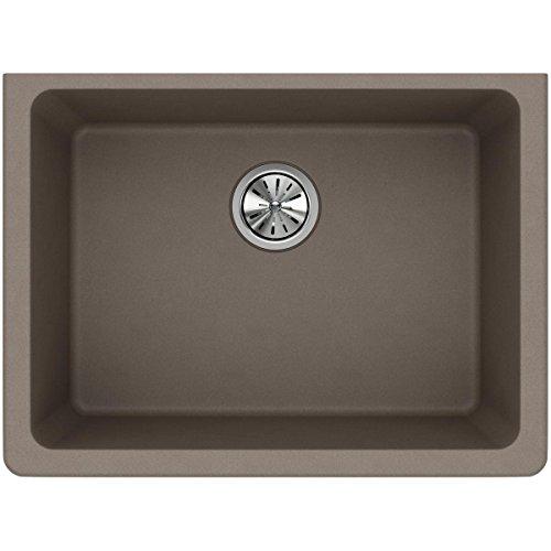 Elkay Quartz Classic ELGU2522GR0 Greige Single Bowl Undermount Sink
