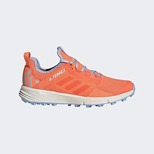 adidas Performance Terrex Speed LD Trail Laufschuh Damen korall/blau, 6.5 UK - 40 EU - 8 US