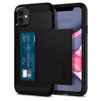 Spigen Slim Armor CS Designed for Apple iPhone 11 Case (2019) - Black