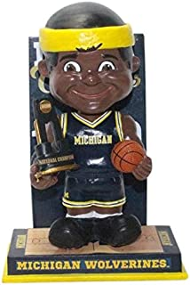 Forever Collectibles Michigan Wolverines NCAA Men's Basketball Champions Bobblehead