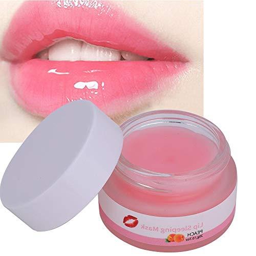 Baume à lèvres, hydratation du sommeil, exfoliation, réparation des fissures sèches, baume à lèvres réparateur de nuit 20 g