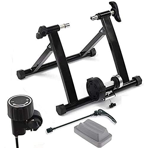 Ecovelò - Rodillo para Bicicleta para Entrenamiento en Interiores, Plegable, Resistencia magnética...