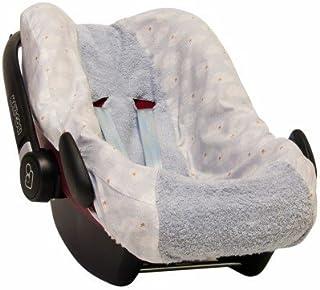 Trixie Baby-Funda Clavos para silla de coche Pebble - Gris
