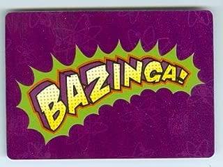 Bazinga trading card game card The Big Bang Theory