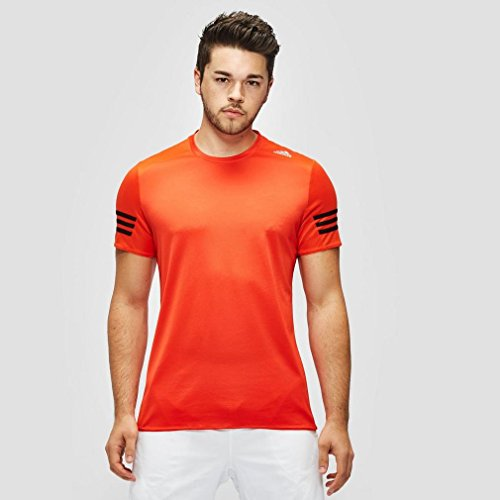 adidas Response T-Shirt Manches Courtes Homme, Bold Orange/Black, FR : S (Taille Fabricant : S)