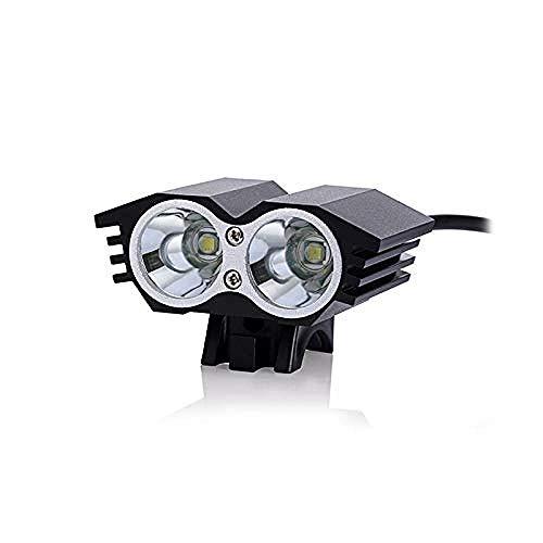 A-Generic Lumières de vélo étanche Rechargeable vélo lumière LED Phare Batterie Externe vélo Accessoires Cyclisme Torche
