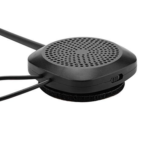 Xndz Auriculares para Casco Bluetooth, Control por Voz Auriculares para Casco duraderos Respuesta automática/Manual para Moto