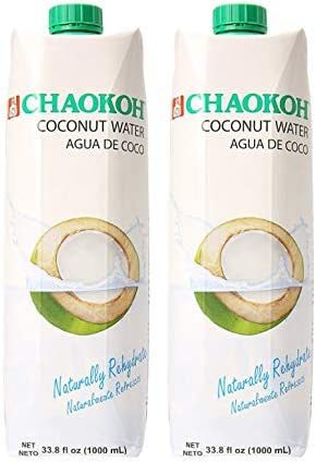 Chaokoh Agua de Coco Coconut Water 2 Pack Total of 67 6fl oz product image