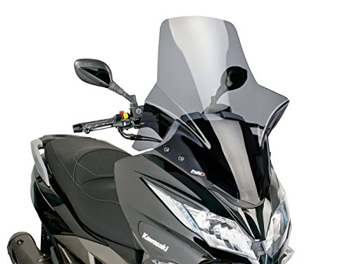 Windschild Puig V-Tech Touring Dark Smoke für Kawasaki J300