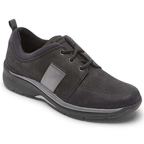 Aravon Women's Pyper Plaintoe Casual Shoes Black Nubuck 5 Wide