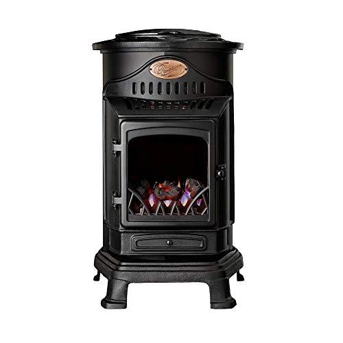 Estufda de gas portátil Calor Provence (3 kW), color negro mate