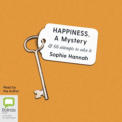 Happiness, a Mystery audiobook cover art