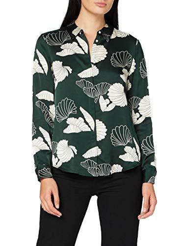 Scotch & Soda Regular Drapey Shirt In Seasonal Pattern Camisa para Mujer