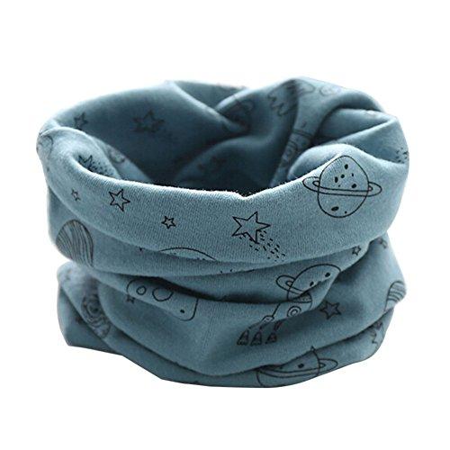 ZUMUii Butterme Sciarpe Calde del Cotone del Bambino del Bambino dei Bambini Ragazzi dei Ragazzi Sciarpa Sciarpa Halstuch Inverno per Il Bambino Infantile Unisex 1-3Y