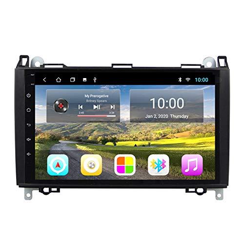 Amimilili Android 8.1 Autoradio 8.1 Pulgadas Estéreo para Auto para Mercedes Benz B W245 B150 B160 B170 B180 B200 B55 2004-2012 navegación GPS Radio FM/SWC/Cámara Trasera,8 Cores,4G+WiFi:2+32G