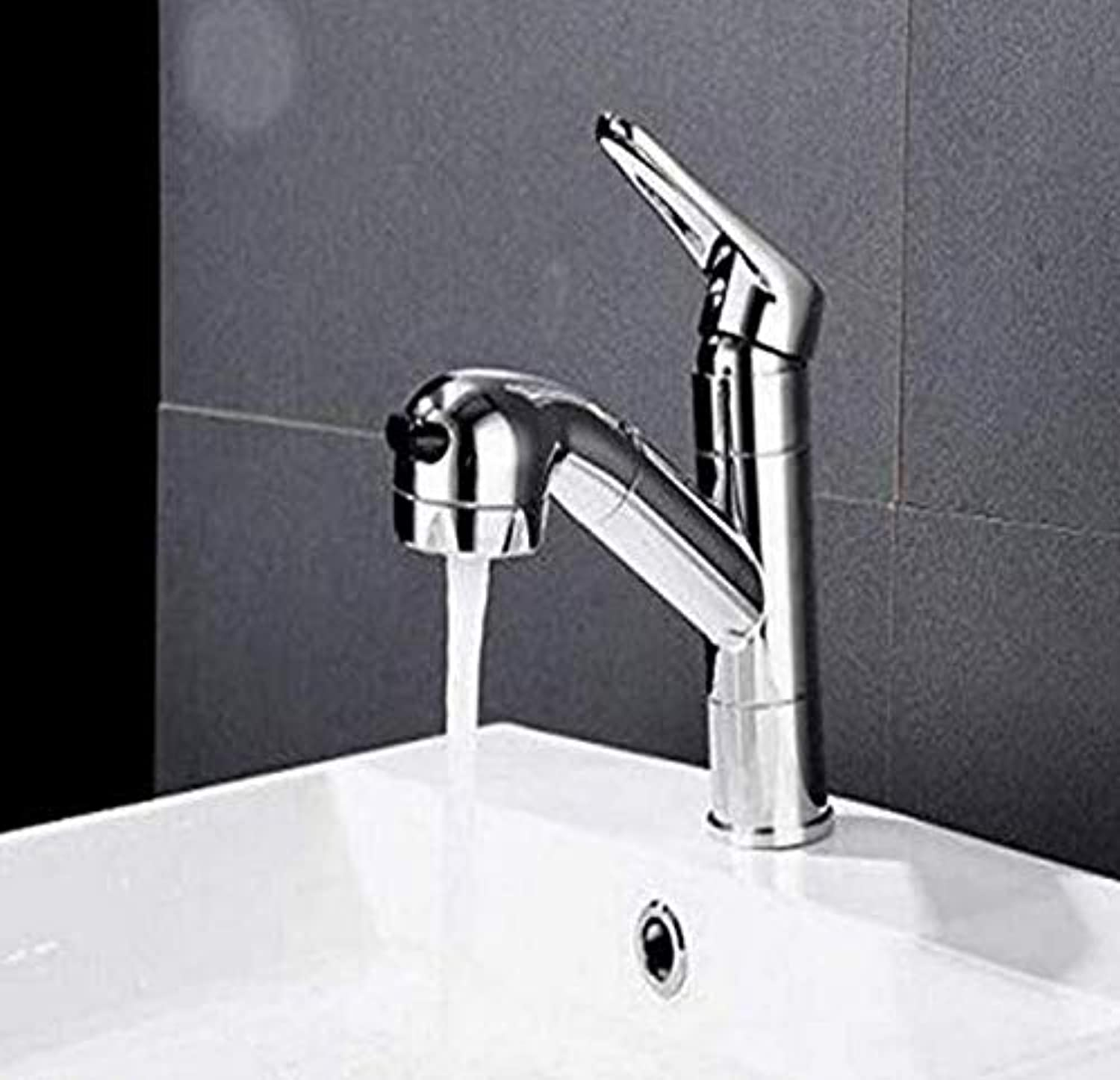 Retro Faucet Taps Copper Pull Faucet Hot and Cold redatable