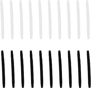 DOITOOL 40 stuks siliconen brillen tempel tips sleeve houder anti-slip bril einde tips oor sok stukken buis vervanging voo...