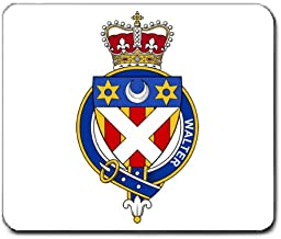 Walter Scotland Family Crest Coat of Arms Mouse Pad