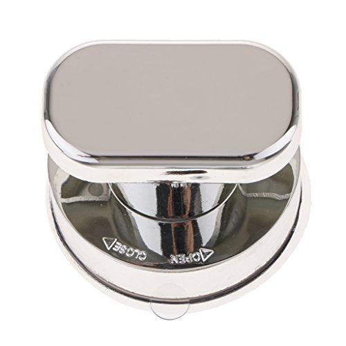Homyl Bad Saugnapf Handlauf Sicherheitsgriff Griff Badewanne Glastür Kühlschrank - Silber S