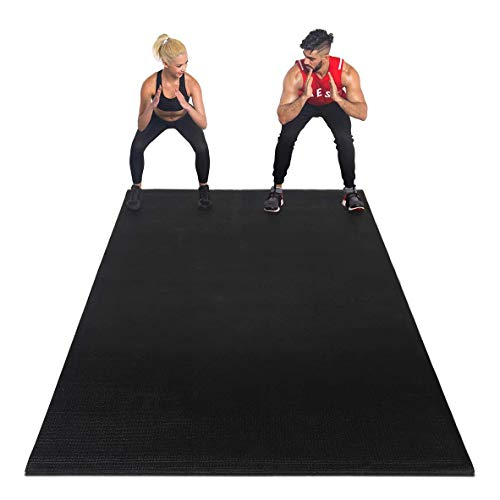 Premium Large Exercise Mat Ultra Durable, Non-Slip, Workout Mats for Home Gym Flooring (152x360cm) from Gym Plus