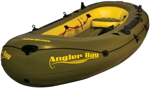 ANGLER BAY Inflatable Boat, 6 person
