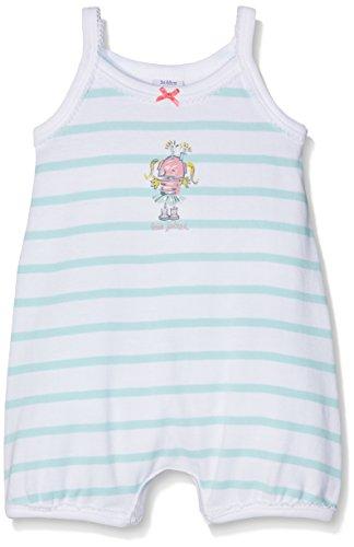 Petit Bateau 23841 Conjuntos de Pijama, Multicolor (Ecume/Verglas), 6M Bebé Niñas