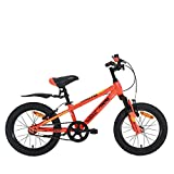 Firefox Bikes Bruto 16T Single Speed Kids Cycle 9' Frame, (Orange/Black)