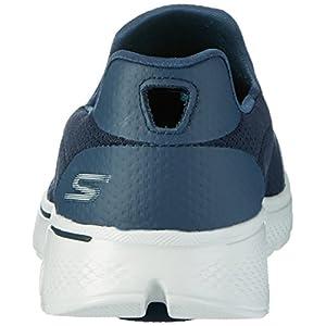 Skechers Performance Men's Go Walk 4 Incredible Walking Shoe, Navy/Gray, 11 3E US