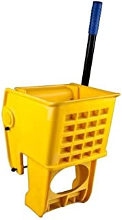 Yellow 36 Quart Wet Mop Bucket Replacement Wringer Commercial