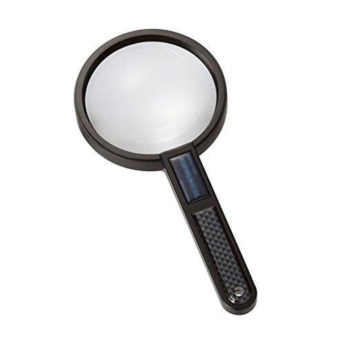 RobFFAW2019 Handlesbarer asphärischer 90mm großer Spiegel für Lupen