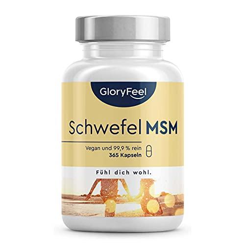 Gloryfeel -  Msm Kapseln - 365