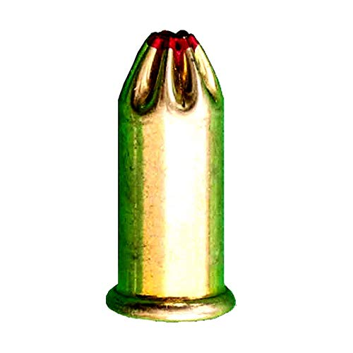 .22 Caliber Red Straight Wall Powder Loads, High Velocity Strong Power Fasteners Power Loads (100-Count) (Level 5)
