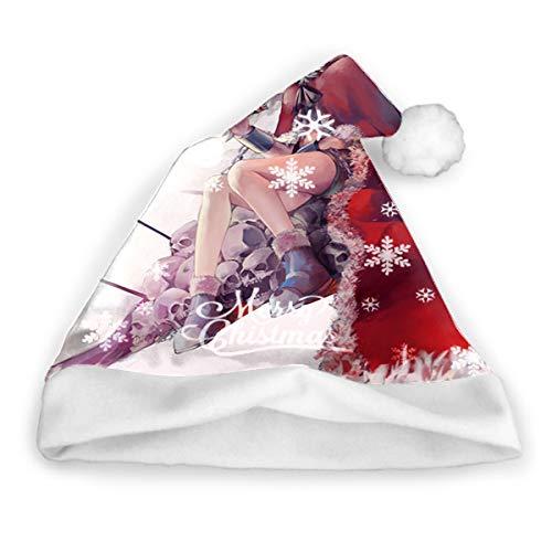 Sdltkhy Hunter × Hunter Hisoka () Sombrero de Navidad Gorro de Papá Noel para Adultos y niños