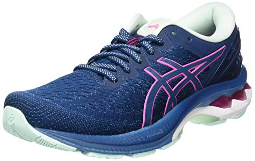 Asics GEL-KAYANO 27, Women's race, Mako Blue/Hot Pink, 4.5 UK (37.5 EU)