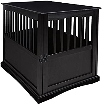 Casual Home Wood Pet Crate End Table