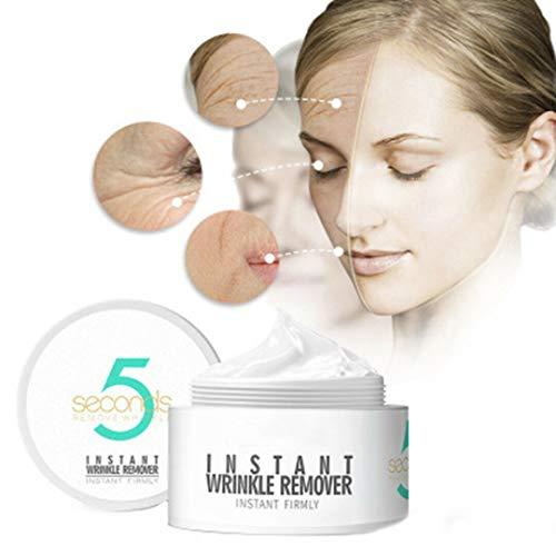 AJUMKER Neue Peptid-Faltenentferner-Creme 5 Sekunden Faltenentfernung straffende Haut Ageless Agitation Straffende Instant-Creme Feuchtigkeitsspendendes Anti-Aging