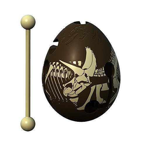 Smart Egg Dino - 3D Puzle de Laberinto y Juguete Educativo para Niños, Nivel 11 en Una Increíble Serie Rompecabezas - Desafío y Diversión en La Solución del Laberinto Dentro del Huevo