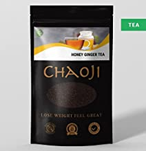 Chaoji Honey Ginger Tea aE Natural Detox Slimming Tea aE Helps Against Diabetes Cholesterol and Weight Gaining aE Improves Digestion aE Protein Enrichen Tea aE Detox and Weight Loss Tea 1 Estimated Price : £ 14,99