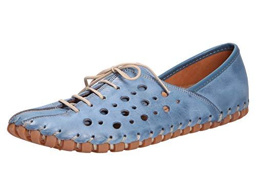 Gemini Damen Slipper 31210-02-808 blau 609257