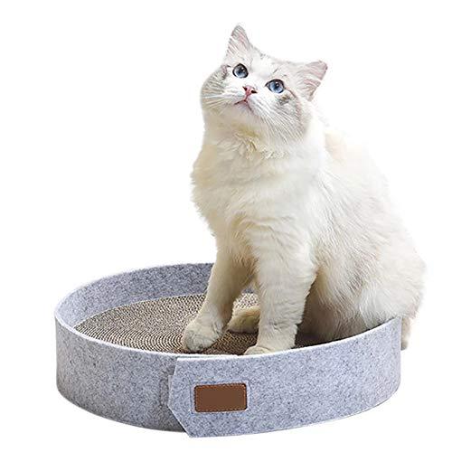 MAFANG Rascador para Gatos, Rascador De Gato, Rascador para Gatos De Cartón, Puede Prevenir El Daño A Los Muebles Y Garras Gato, Adecuado para Gatos Grandes, Medianos Y Pequeños