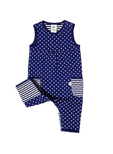 Leela Cotton Joueurs coton bio pour bébé bleu Zypern 50/56