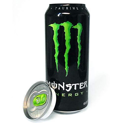 Monster de ocultacion + pegatina/Bote de camuflaje/Lata de ocultación imitación refresco (Monster Energy)