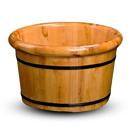 Voetbad Massager | Foot Spa met warmte en massage Voetenbad Voetspa Voetspa Voetenbad Voeten Voetmassage - - Massief houten vat Home Voetenbad Pedicure Wastafel Met Massage/Met Deksel/Hout