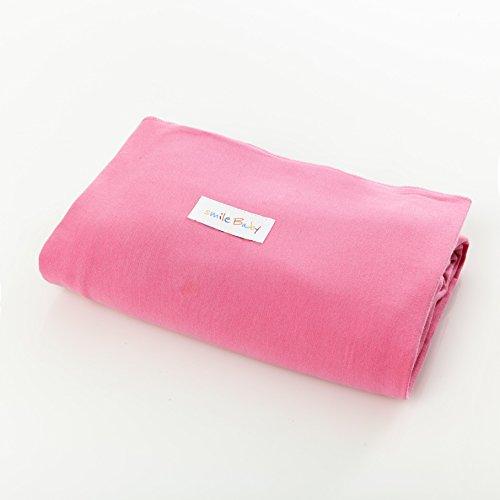 original smileBaby elastisches Babytragetuch Tragetuch für Neugeborene und Babys in Pink